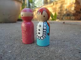paint your own peg dolls for homemade children u0027s toys blissfully