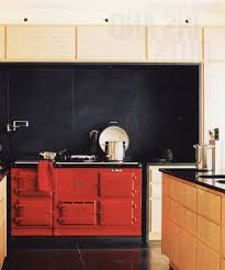 Red Lacquer Kitchen Cabinets Interior Design Red Lacquer Jewel Box Kitchens Idolza