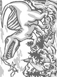 animal coloring page spinosaurus print size jack the lizared