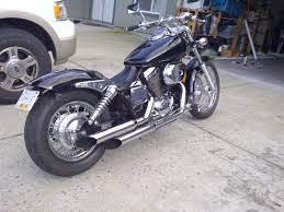 relocate rear signals honda shadow forums shadow motorcycle forum