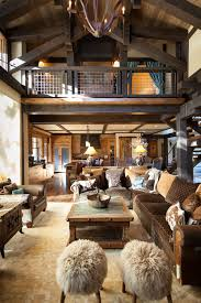 mountain home interior design mountain cabin overflowing with rustic character and handcrafted