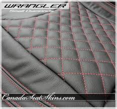Diamond Upholstery 2013 2017 Jeep Wrangler Quilted Leather Upholstery