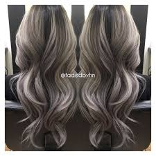 silver hair with blonde lowlights balayage ombré highlights specialist blonde silver faded