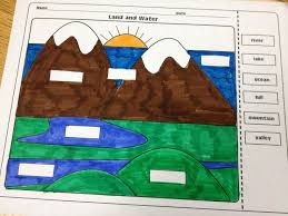 bodies of water list the lesson plan diva landforms and bodies of water freebie tpt