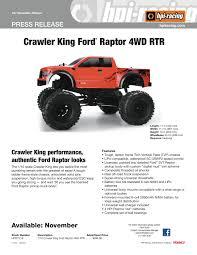 Ford Raptor Nitro Truck - new hpi racing crawler king ford raptor liverc com r c car