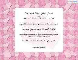wedding invitations for friends free printable wedding invitations