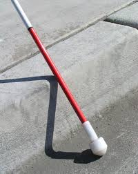 Baseball For The Blind White Cane For The Blind And Visually Impaired How To Get One Free