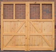 elwy softwood garage doors