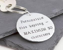 personalized keychain etsy