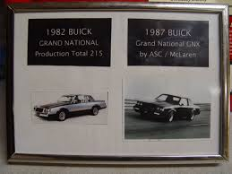 1982 Buick Grand National For Sale Turbo Buick Regal Poster Print
