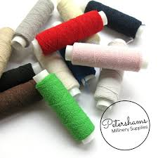 shirring elastic shirring elastic thread 20m petershams millinery supplies