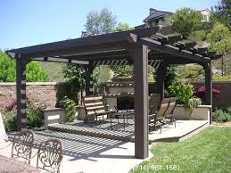 free standing patio covers cornerstone patio covers decks