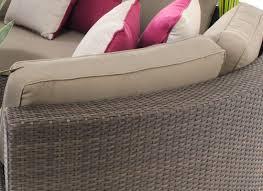 Three Piece Patio Furniture Set - demiluna three piece outdoor furniture lounge sofa set