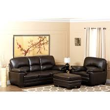 Abbyson Leather Sofa Reviews Abbyson Living Ch 1953 Brn 3 1 4 Briarwood Italian Leather Sofa