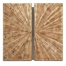 Modern & Contemporary Wood Panel Wall Decor