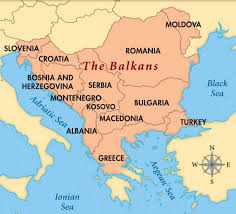 Bosnia Map Balkans Map Territories Whose Borders Lie Entirely Within The