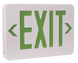 exit sign light bulbs led emergency light exit sign rechargeable emergency l from vdeen