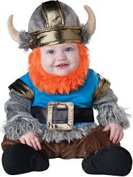 Baby Biker Costume Toddler Halloween Amazon Incharacter Baby Lil U0027 Viking Costume Clothing