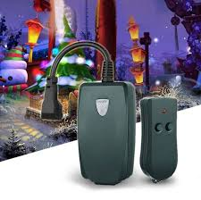 outdoor remote light switch us outdoor remote control outlet wireless light switch socket plug