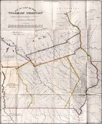 Wisconsin State Map by Notes On Wisconsin Territory With A Map By Lieutenant Albert M