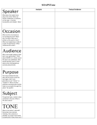 Occasion Soapstone Soapstone Analysis For Primary Source Documents Name