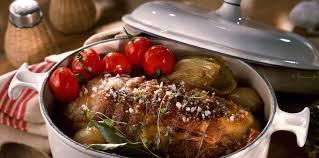 cuisiner le veau en cocotte rôti de veau cocotte facile recette sur cuisine actuelle
