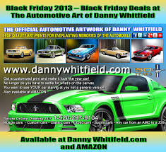 amazon 2013 black friday november 2013 the automotive art of danny whitfield