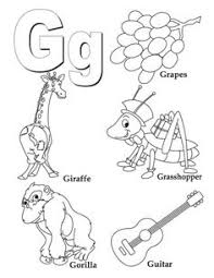 free alphabet coloring sheet letter teaching