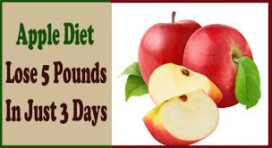 the most effective apple diet u2013 lose 5 pounds in just 3 days