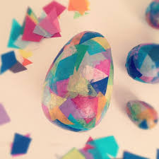 easter egg paper mache home wizards