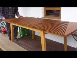 expandable table expandable table handcrafted unicum youtube