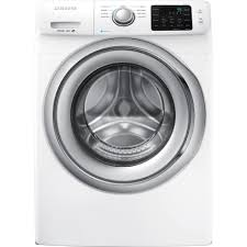 Add To Wishlist Loading Extra Samsung Wf42h5200aw 4 2 Cu Ft Front Load Washer W Steam Washing