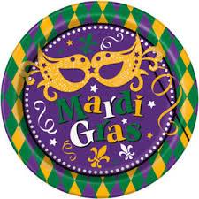 mardi gras paper mardi gras paper plate 8 5 8 11179297955 ebay