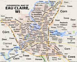 University Of Wisconsin Map by Judgmental Maps Eau Claire Wi By Leepacoindustries Copr 2015