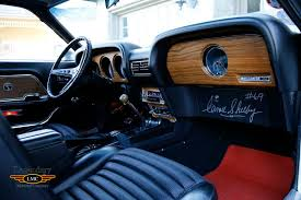 1969 Ford Mustang Interior 1969 Gt 350 Completely Original