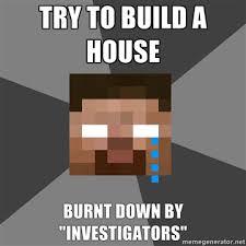 Minecraft Herobrine Memes - sad herobrine meme fan art show your creation minecraft