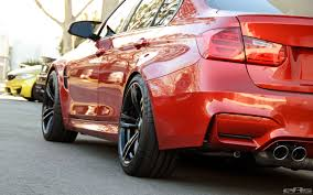 bmw m3 modified a beautiful sakhir orange bmw f80 m3 gets a few modifications