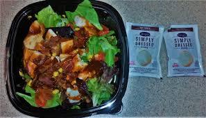 spicy chicken caesar salad two girls one dish