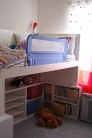 Bedroom Storage Hacks by Kids Beds Ikea Painted Ikea Kura Bed Add Wallpaper And Christmas