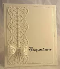 handmade wedding cards ideas recipe card paper su shimmery white