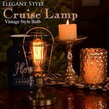 Edison Bulb Table Lamp Decorplus Rakuten Global Market Edison Bulb Table Lamp Table