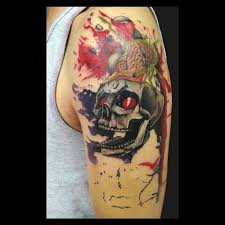 25 unique splatter tattoo ideas on pinterest pirate tattoo