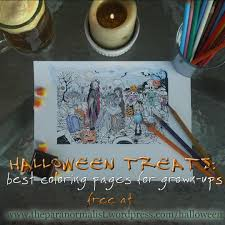 halloween treats coloring pages renae rude the