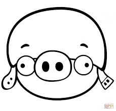 discouraged minion pig coloring printable pages king
