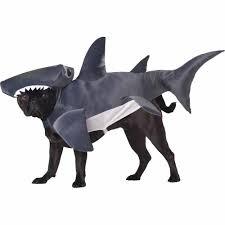 hammerhead shark animal halloween pet costume multiple sizes