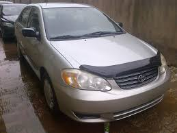 transmission toyota corolla 2003 fresh tokunbo 2003 toyota corolla manual transmission for sale