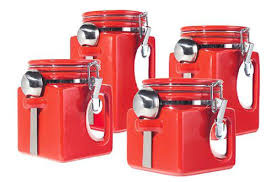 orange kitchen canisters kitchen canister sets walmart coryc me