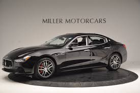maserati ghibli sport package 2017 maserati ghibli sq4 ex loaner stock m1718 for sale near