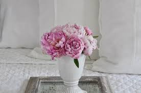 Pink Peonies Bedroom - the sheer bliss of linen decor gold designs