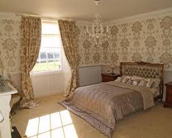 bedroom brilliant victorian bedroom wallpaper and gold and cream